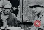 Image of prisoners of camp Hanover Germany, 1945, second 46 stock footage video 65675073890