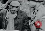 Image of prisoners of camp Hanover Germany, 1945, second 47 stock footage video 65675073890