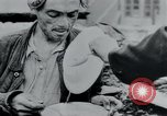 Image of prisoners of camp Hanover Germany, 1945, second 49 stock footage video 65675073890
