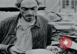 Image of prisoners of camp Hanover Germany, 1945, second 51 stock footage video 65675073890