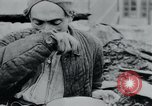 Image of prisoners of camp Hanover Germany, 1945, second 52 stock footage video 65675073890