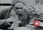 Image of prisoners of camp Hanover Germany, 1945, second 54 stock footage video 65675073890