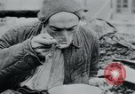 Image of prisoners of camp Hanover Germany, 1945, second 55 stock footage video 65675073890