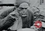 Image of prisoners of camp Hanover Germany, 1945, second 57 stock footage video 65675073890