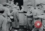 Image of prisoners of camp Hanover Germany, 1945, second 59 stock footage video 65675073890