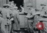 Image of prisoners of camp Hanover Germany, 1945, second 60 stock footage video 65675073890