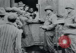 Image of prisoners of camp Hanover Germany, 1945, second 61 stock footage video 65675073890