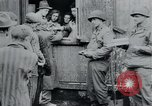 Image of prisoners of camp Hanover Germany, 1945, second 62 stock footage video 65675073890
