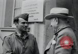 Image of General Raymond S McLain Weilheim Germany, 1945, second 19 stock footage video 65675073899