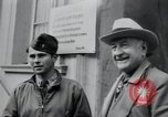 Image of General Raymond S McLain Weilheim Germany, 1945, second 23 stock footage video 65675073899