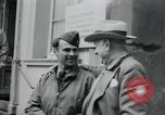 Image of General Raymond S McLain Weilheim Germany, 1945, second 24 stock footage video 65675073899