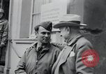 Image of General Raymond S McLain Weilheim Germany, 1945, second 25 stock footage video 65675073899