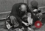 Image of liberated prisoners Germany, 1945, second 34 stock footage video 65675073906