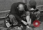 Image of liberated prisoners Germany, 1945, second 36 stock footage video 65675073906