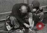 Image of liberated prisoners Germany, 1945, second 38 stock footage video 65675073906