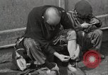 Image of liberated prisoners Germany, 1945, second 39 stock footage video 65675073906