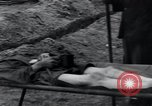 Image of sick prisoners Germany, 1945, second 14 stock footage video 65675073913