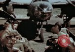Image of B-26 Marauder bomber crew flaunting standard procedures Germany, 1945, second 4 stock footage video 65675073918