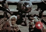 Image of B-26 Marauder bomber crew flaunting standard procedures Germany, 1945, second 5 stock footage video 65675073918