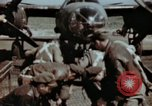 Image of B-26 Marauder bomber crew flaunting standard procedures Germany, 1945, second 6 stock footage video 65675073918