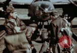 Image of B-26 Marauder bomber crew flaunting standard procedures Germany, 1945, second 7 stock footage video 65675073918