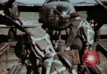Image of B-26 Marauder bomber crew flaunting standard procedures Germany, 1945, second 10 stock footage video 65675073918