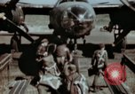 Image of B-26 Marauder bomber crew flaunting standard procedures Germany, 1945, second 14 stock footage video 65675073918