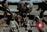 Image of B-26 Marauder bomber crew flaunting standard procedures Germany, 1945, second 15 stock footage video 65675073918