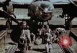 Image of B-26 Marauder bomber crew flaunting standard procedures Germany, 1945, second 16 stock footage video 65675073918