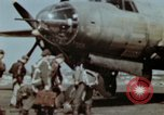 Image of B-26 Marauder bomber crew flaunting standard procedures Germany, 1945, second 17 stock footage video 65675073918