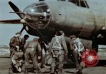 Image of B-26 Marauder bomber crew flaunting standard procedures Germany, 1945, second 19 stock footage video 65675073918