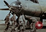 Image of B-26 Marauder bomber crew flaunting standard procedures Germany, 1945, second 20 stock footage video 65675073918