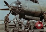 Image of B-26 Marauder bomber crew flaunting standard procedures Germany, 1945, second 22 stock footage video 65675073918