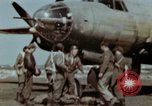 Image of B-26 Marauder bomber crew flaunting standard procedures Germany, 1945, second 23 stock footage video 65675073918