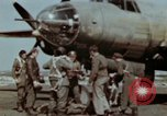Image of B-26 Marauder bomber crew flaunting standard procedures Germany, 1945, second 24 stock footage video 65675073918