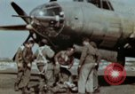 Image of B-26 Marauder bomber crew flaunting standard procedures Germany, 1945, second 26 stock footage video 65675073918