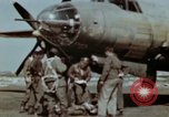 Image of B-26 Marauder bomber crew flaunting standard procedures Germany, 1945, second 27 stock footage video 65675073918