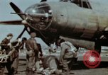 Image of B-26 Marauder bomber crew flaunting standard procedures Germany, 1945, second 28 stock footage video 65675073918