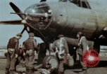 Image of B-26 Marauder bomber crew flaunting standard procedures Germany, 1945, second 30 stock footage video 65675073918