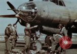 Image of B-26 Marauder bomber crew flaunting standard procedures Germany, 1945, second 32 stock footage video 65675073918