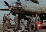 Image of B-26 Marauder bomber crew flaunting standard procedures Germany, 1945, second 33 stock footage video 65675073918