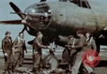 Image of B-26 Marauder bomber crew flaunting standard procedures Germany, 1945, second 34 stock footage video 65675073918