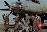 Image of B-26 Marauder bomber crew flaunting standard procedures Germany, 1945, second 35 stock footage video 65675073918