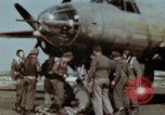 Image of B-26 Marauder bomber crew flaunting standard procedures Germany, 1945, second 36 stock footage video 65675073918