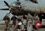 Image of B-26 Marauder bomber crew flaunting standard procedures Germany, 1945, second 37 stock footage video 65675073918