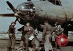 Image of B-26 Marauder bomber crew flaunting standard procedures Germany, 1945, second 38 stock footage video 65675073918