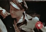 Image of B-26 Marauder bomber crew flaunting standard procedures Germany, 1945, second 49 stock footage video 65675073918