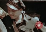 Image of B-26 Marauder bomber crew flaunting standard procedures Germany, 1945, second 50 stock footage video 65675073918