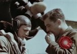 Image of B-26 Marauder bomber crew flaunting standard procedures Germany, 1945, second 54 stock footage video 65675073918
