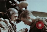 Image of B-26 Marauder bomber crew flaunting standard procedures Germany, 1945, second 55 stock footage video 65675073918